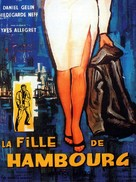 Fille de Hambourg, La - French Movie Poster (xs thumbnail)