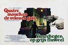 4 mosche di velluto grigio - Belgian Movie Poster (xs thumbnail)
