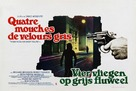 4 mosche di velluto grigio - Belgian Movie Poster (xs thumbnail)