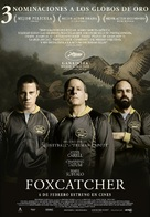 Foxcatcher - Spanish Movie Poster (xs thumbnail)
