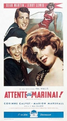Sailor Beware - Italian Theatrical poster (xs thumbnail)