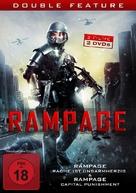Rampage 2 - German DVD cover (xs thumbnail)