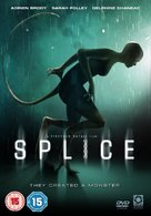 Splice - British Movie Cover (xs thumbnail)