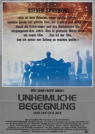 Close Encounters of the Third Kind - German Movie Poster (xs thumbnail)