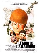 Le mur de l'Atlantique - French Movie Poster (xs thumbnail)