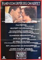 Krigerens hjerte - Norwegian Movie Poster (xs thumbnail)