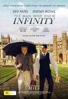 The Man Who Knew Infinity - Australian Movie Poster (xs thumbnail)