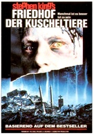 Pet Sematary - German VHS movie cover (xs thumbnail)