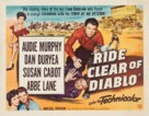 Ride Clear of Diablo - Movie Poster (xs thumbnail)