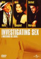 Investigating Sex - Spanish DVD movie cover (xs thumbnail)