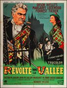 Trouble in the Glen - French Movie Poster (xs thumbnail)