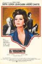 Verdict - Spanish Movie Poster (xs thumbnail)