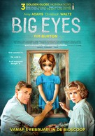 Big Eyes - Dutch Movie Poster (xs thumbnail)