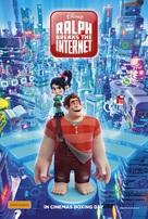Ralph Breaks the Internet - Australian Movie Poster (xs thumbnail)