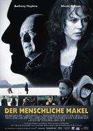 The Human Stain - German Movie Poster (xs thumbnail)