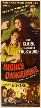 Highly Dangerous - Movie Poster (xs thumbnail)