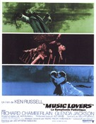 The Music Lovers - French Movie Poster (xs thumbnail)