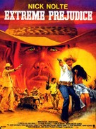 Extreme Prejudice - French Movie Poster (xs thumbnail)