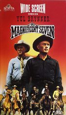 The Magnificent Seven - Dutch VHS movie cover (xs thumbnail)