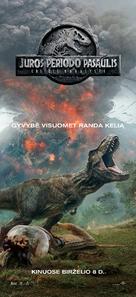 Jurassic World: Fallen Kingdom - Lithuanian Movie Poster (xs thumbnail)