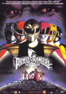 Mighty Morphin Power Rangers: The Movie - Spanish Movie Poster (xs thumbnail)