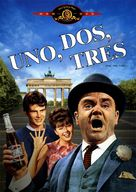 One, Two, Three - Spanish DVD movie cover (xs thumbnail)