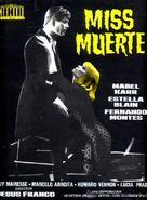 Miss Muerte - Spanish Movie Poster (xs thumbnail)