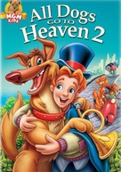 All Dogs Go to Heaven 2 - DVD cover (xs thumbnail)