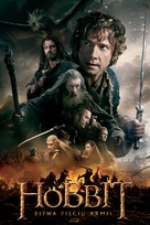 The Hobbit: The Battle of the Five Armies - Polish Movie Cover (xs thumbnail)