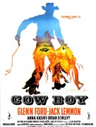 Cowboy - French Movie Poster (xs thumbnail)
