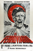 Il ferroviere - Argentinian Movie Poster (xs thumbnail)