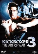Kickboxer 3: The Art of War - German DVD cover (xs thumbnail)