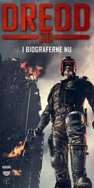 Dredd - Danish Movie Poster (xs thumbnail)