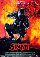 Spawn - German Movie Poster (xs thumbnail)