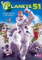 Planet 51 - French DVD cover (xs thumbnail)