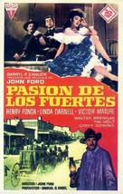 My Darling Clementine - Spanish Movie Poster (xs thumbnail)