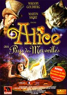 Alice in Wonderland - French DVD cover (xs thumbnail)