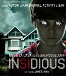 Insidious - Italian Movie Cover (xs thumbnail)