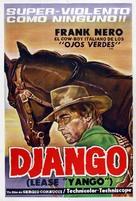 Django - Argentinian Movie Poster (xs thumbnail)