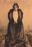 Dr. Mabuse, der Spieler - Ein Bild der Zeit - German Movie Poster (xs thumbnail)