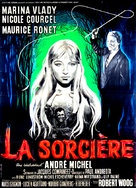 La sorcière - French Movie Poster (xs thumbnail)