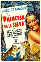 The Jungle Princess - Argentinian Movie Poster (xs thumbnail)