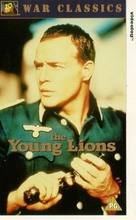 The Young Lions - British VHS movie cover (xs thumbnail)