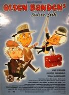 Olsen-bandens sidste stik - Danish Movie Poster (xs thumbnail)