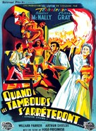 Apache Drums - French Movie Poster (xs thumbnail)