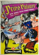 Prince Valiant - Danish Movie Poster (xs thumbnail)