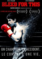 Bleed for This - French DVD movie cover (xs thumbnail)
