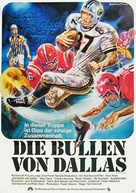North Dallas Forty - German Movie Poster (xs thumbnail)