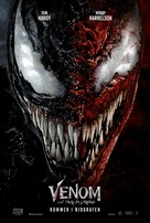 Venom: Let There Be Carnage - Danish Movie Poster (xs thumbnail)