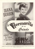 His Butler's Sister - Argentinian poster (xs thumbnail)